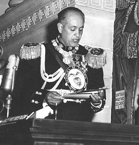 Presidencia Gustavo Rojas Pinilla