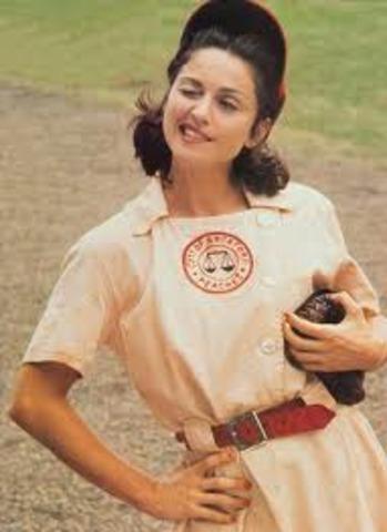 Sports: Girls Baseball.