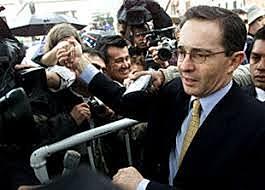 Elección del Presidente Alvaro Uribe Velez
