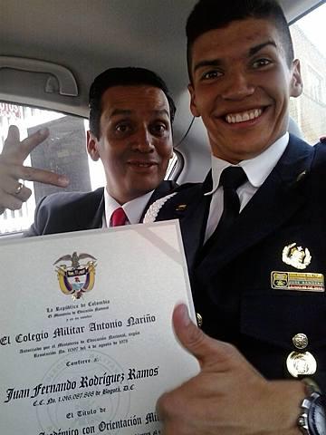 Graduación de mi hermano del bachillerato