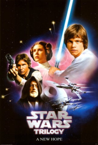 Stars Wars: A New Hope is released