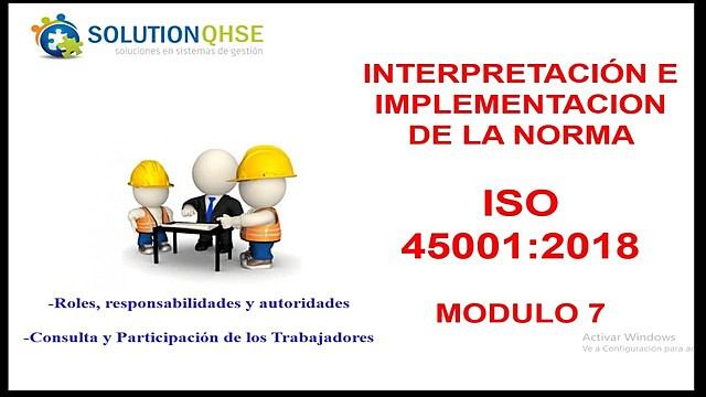 2018 ISO 45001:2018 La Evolución de la Norma