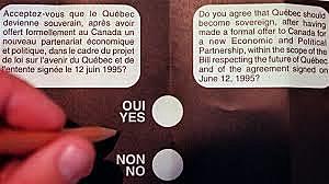 Le référendum sur la souveraineté