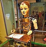 Automate dessinateur-écrivain de Maillardet Robot