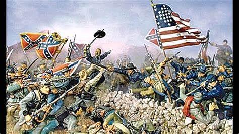Det ble borgerkrig i USA