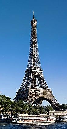 Eiffeltårnet bygges i stål