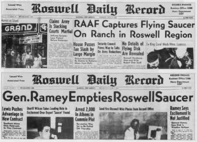 Roswell, New Mexico UFO incident