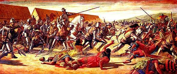 Fin de los Incas, Conquista (1525-1534)