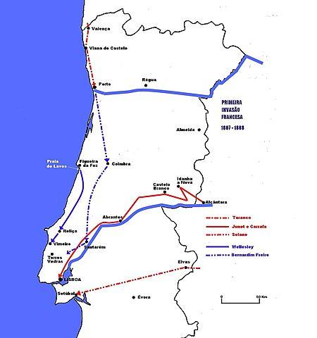 Entrada dos franceses em Portugal
