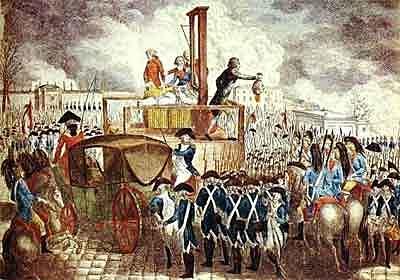 Morte do rei D. Luís XVI