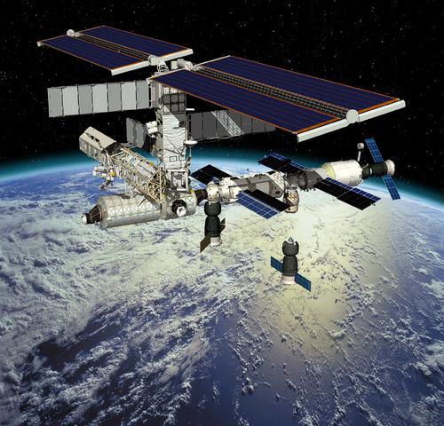 Human habitation in ISS