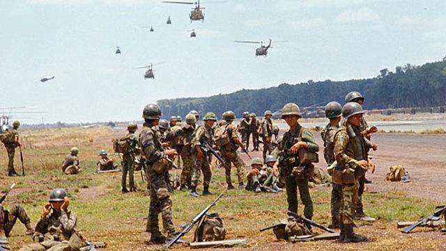 US joins Vietnam War