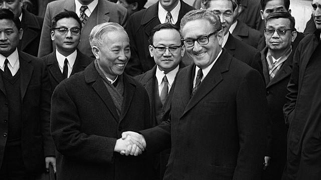 Paris Peace Agreement signing