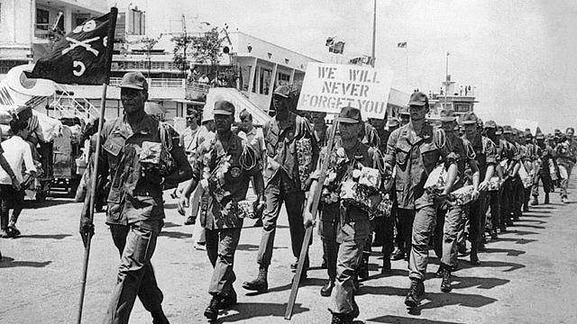 Troops Pull from Vietnam
