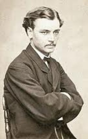 Lincoln's first son Robert Lincoln.