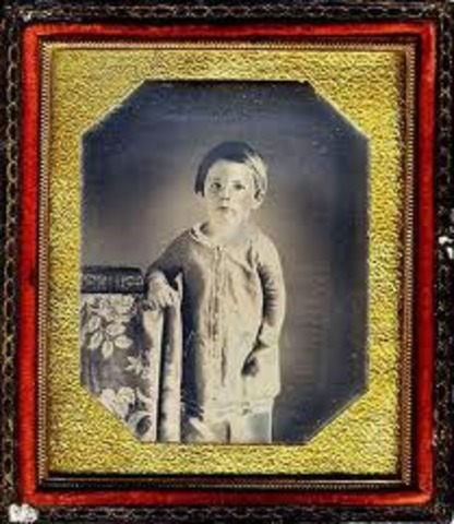 Lincoln's second son Edward Lincoln.