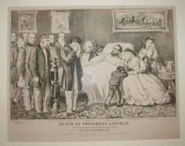 Lincoln's death.