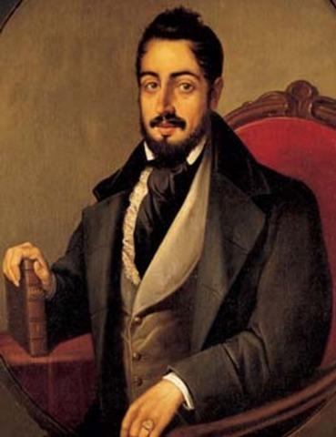 Vida De Mariano José De Larra Timeline Timetoast Timelines