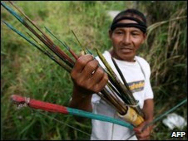 Clash in the Amazon