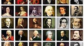 Principales Compositores Barrocos timeline