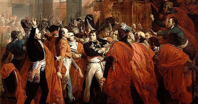 Golpe de estado e o fim da Revolução Francesa