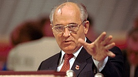 Новое политическое мышление и международные отношения Советского Союза  timeline