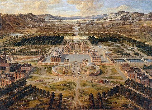Insta·lació del rei a Versalles