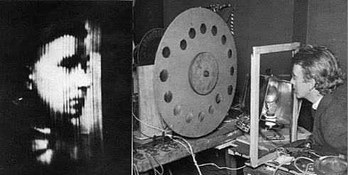 В 1925 году шведскому инженеру Джону Бэрду удалось впервые добиваться передачи распознаваемых человеческих лиц. С использованием диска Нипкова.
