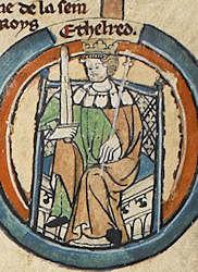 6. King Aethelred I (866 - 871)
