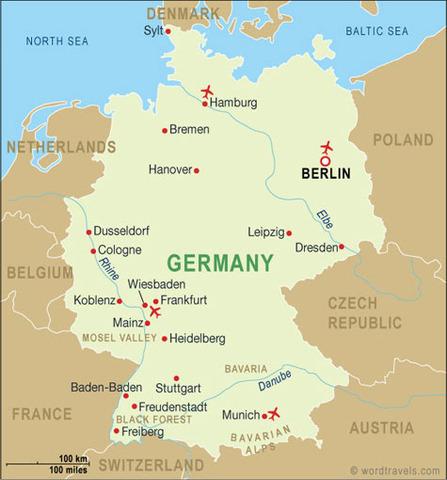 Federal Republic declared on Germany