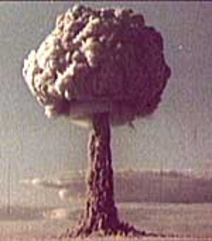 soviets test their atomic bomb