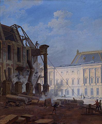 La construcció del pavelló Dufour: