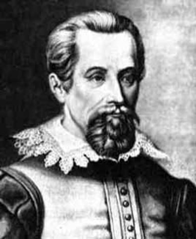 Kepler published first two Planetary Motion Laws