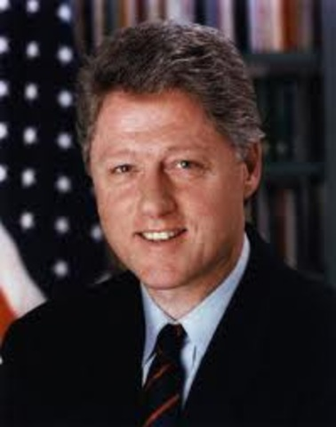 Clinton Becomes President