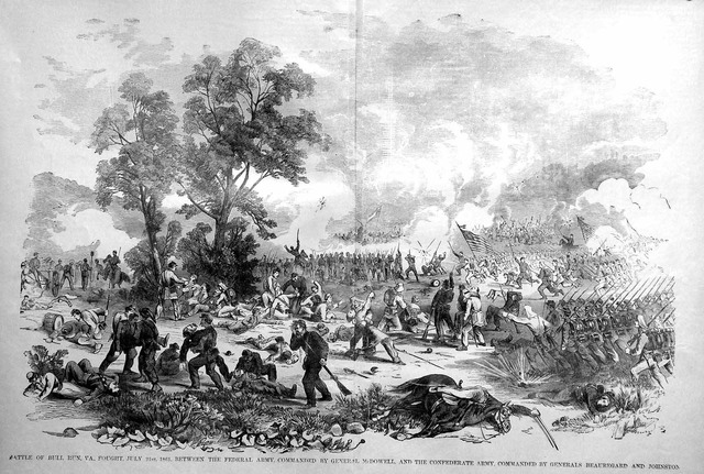 The Battle of Bull Run --- Afternoon