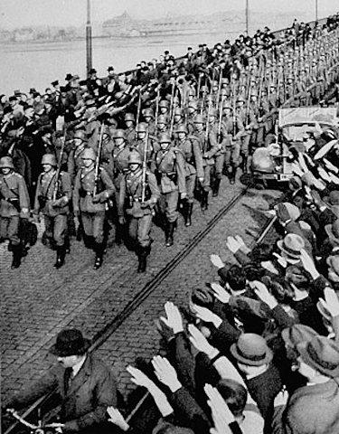 Le 7 Mars 1936 : La réarmement de Rhine