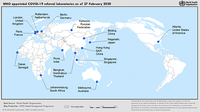 International Network of Expert Laboratories