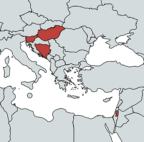First Cases in Bosnia and Herzegovina, Gibraltar, Hungary, Slovenia, and occupied Palestinian territory