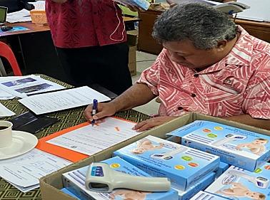 Support for Samoa and Tokelau