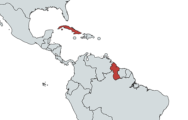 First Cases in Jersey, Réunion, Saint Vincent and the Grenadines, Cuba, and Guyana
