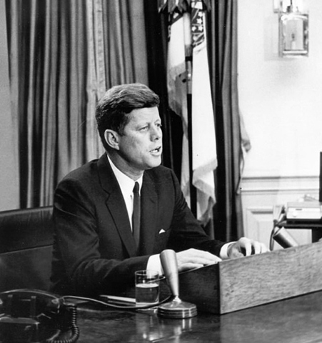 kennedy adresses nation about civil rights