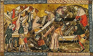 Arribada Pesta Negra a Europa  (Mitjans segle XIV)
