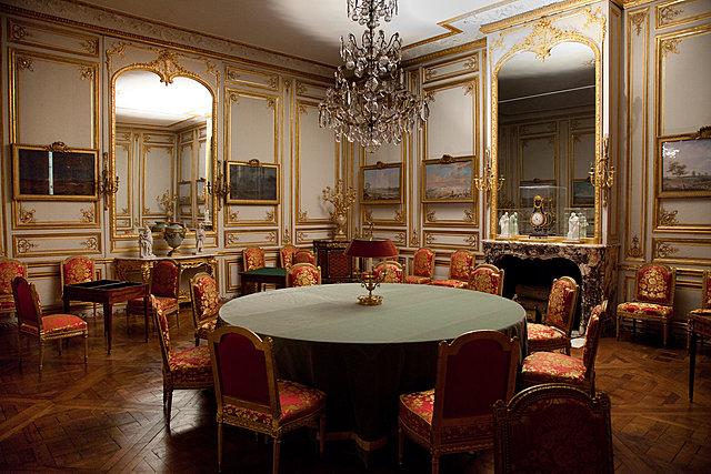 La sala de jocs de Lluís XVI restaurada