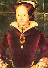 43. Queen Mary I (1553 - 1558)