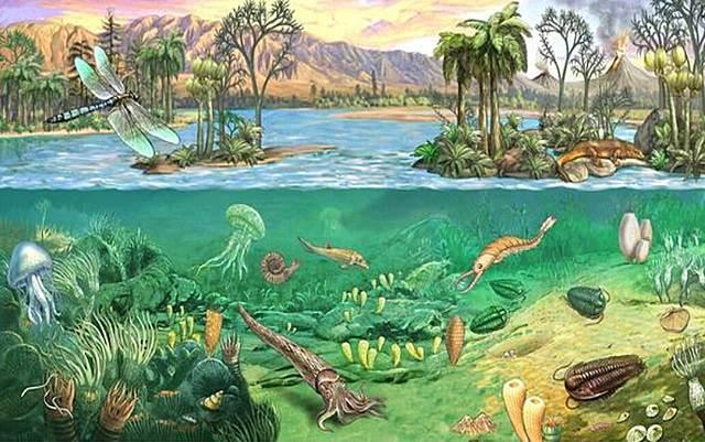 Inizio dell'era paleozoica o primaria