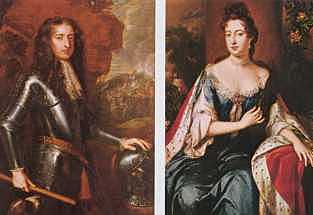 52. King William III and Queen Mary II (1689 - 1702)
