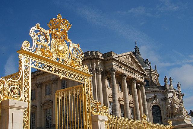 La inauguració de la reixa Reial i l'estàtua de Lluís XIV