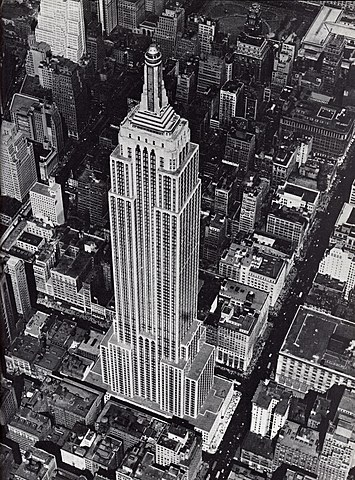 Начало тестового вещания с небоскрёба Empire State Building