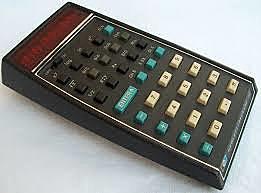 Primera Calculadora de Bolsillo