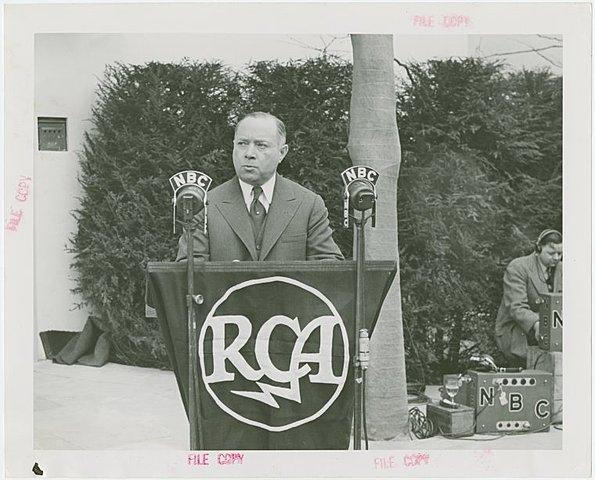 Презентация RCA. Телевидение Зворыкина-Сарнова